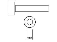 Zylinderschraube Niro M2,0