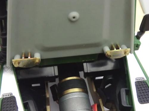 Defender Motorhaube flach klassisch