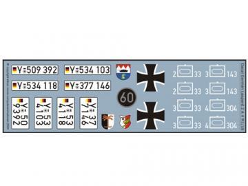 Decalsatz Leopard 2 A 4