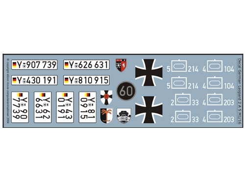 Decalsatz Leopard 2 A 5