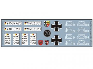 Decalsatz Leopard 2 A 6