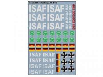Decalsatz ISAF