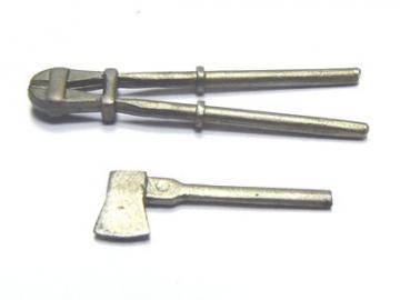 Axt klein & Bolzenschneider