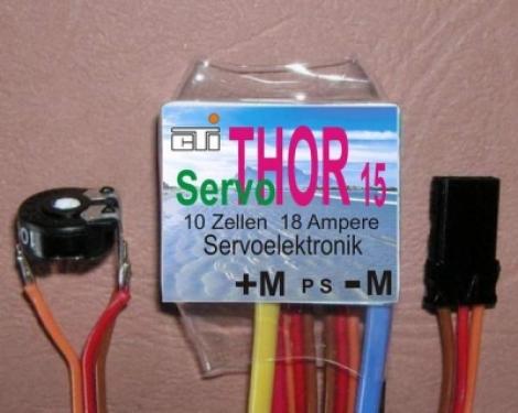 Servo THOR 15 CTI Leistungs-Servoelektron